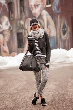 jogging sweat pants street style inspiration tendance mode
