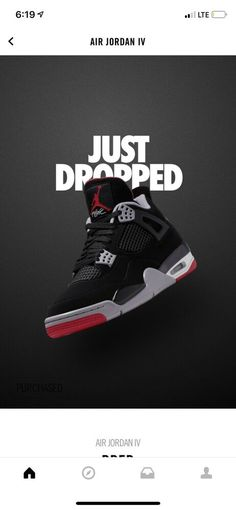 90a971a0f42995 Air Jordan 4 Black Cement Aj4 Men SNEAKERS 2019 Size 11  fashion  clothing