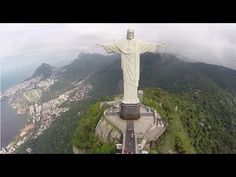Some Doctor Who-related aerial footage from Brazil, taken at the foot of the Christ the Redeemer statue overlooking Rio de Janeiro.