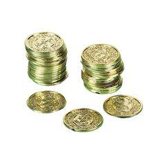 Piraten Münzen, 72 Stück