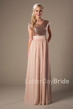 modest-dresses-hilary-rose gold-front