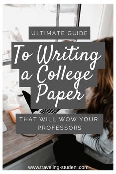 How to Write a College Level Paper - Traveling Student Writing A Term Paper, Essay Writing, Writing Tips, Arcadia University, Best University, College Essay, College Hacks, Note Taking Tips, Writers Help