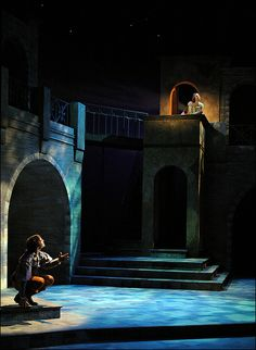"""Romeo & Juliet"" at Rutgers University's Mason Gross School of the Arts (set designed by Jonathan Wentz)"