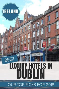 Best luxury hotels in Dublin - 5 Star Best - Luxury that you simply can not miss out when visiting Ireland. There's nothing quite like the Irish welcome and our list of top luxury hotels in Dublin Ireland will spoil you once you walk into the door. Dublin Hotels, Ireland Hotels, Ireland Travel, Dublin Ireland, Chicago Hotels, Monaco, Elite Hotels, Best Hotels, Luxury Hotels