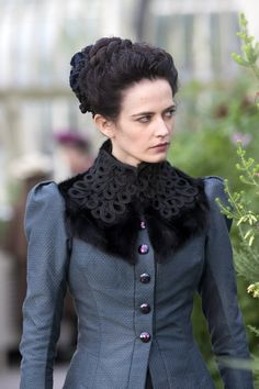 Jackie, who is DONE with your shit. Eva Green as Vanessa Ives in Penny Dreadful (TV Series, Penny Dreadful Tv Series, Eva Green Penny Dreadful, Vanessa Ives, Dorian Gray, Triquetra, Penny Terrible, Frankenstein, Victorian Fashion, Vintage Fashion