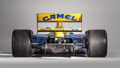 At Bonhams' forthcoming Bond Street auction, a very special car will be offered for sale: the Benetton-Ford that eventual seven-time World Champion Michael Schumacher would steer to his first-ever podium finish in Michael Schumacher, Benetton, Le Mans, Grand Prix, Jaguar, Mechanical Art, Ford, Formula 1 Car, Car Museum