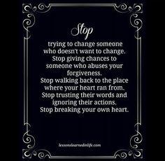 Yup...Stopping