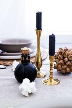 Interior, Interior Design, Nordic, Wedding, Table Decoration Nordic Wedding, Wedding Table, Candle Holders, Candles, Weddings, Table Decorations, Interior Design, Home Decor, Nest Design