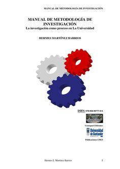 Manual de metodología de investigación Documentación Metodològica