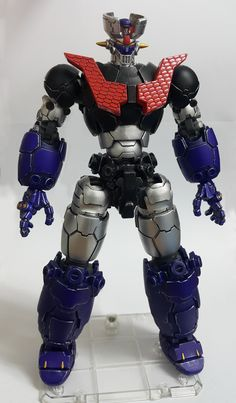 printable model hobby Mazinger Z robot machine, formats OBJ, MTL, STL, ready for animation and other projects Anime Figures, Action Figures, 3d Printable Models, Model Hobbies, Saturday Morning Cartoons, Super Robot, Old Cartoons, 3d Animation, Cover Art