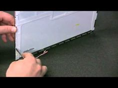 Cool LCD Backlight Removal & Replacement   laptop screen fix     YouTube