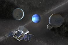 NASA's Transiting Exoplanet Survey Satellite (TESS) has found three confirmed exoplanets in its first three months of observations. The planet hunter's latest discovery—a small planet outside our Solar System—was announced at this week's … Sistema Solar, Space Probe, Space Telescope, New Planet Discovered, Jupiter's Moon Europa, Super Earth, Neptune, Small Planet, Body Rock