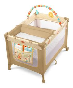 Take a look at this Bright Starts Sunnyside Safari Play Yard by Bright Starts on #zulily today!
