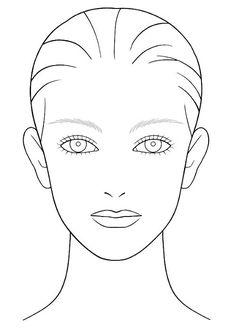 Shiseido. Este facechart es el que ofrece oficialmente la marca en su página oficial, aquí. http://www.sca.shiseido.com/images/facechart/makeupchart.pdf. Por si queréis bajároslo y usarlo en vuestros propios maquillajes.