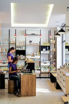 View full picture gallery of organic cosmetic store. trend-ad-shortcode id= Design Shop, Shop Interior Design, Display Design, Store Design, Exterior Design, Cosmetic Display, Cosmetic Shop, Visual Merchandising, Shop House Plans