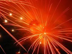 orange fireworks | fireworks-orange-red-shine-spot.jpg