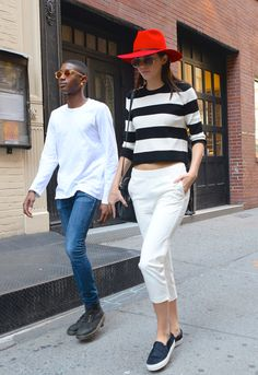 19 Times Kendall Jenner's Outfit Totally Killed It via @WhoWhatWear