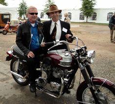 Gary Nixon and Gary Fischer