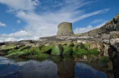 MOUSA BROCH, SHETLAND, SCOTLAND -- Mousa Broch is a neolithic dwelling on Mousa in the Shetland Islands of Scotland.