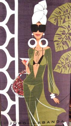 NOIR BLANC un styleJordi Labanda est un jeune et génial illustrateur uruguayen qui travaille pour les grands magazines, les créateurs de mode et la publicité. Son style pop s'appuie sur l'esthétique des années 50 et 60