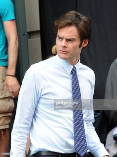 """News Photo : Bill Hader on the set of """"Trainwreck"""" on June I Have A Crush, Having A Crush, Bill Harder, Snl Cast Members, I Need A Boyfriend, I Love Him, My Love, Saturday Night Live, Funny People"""