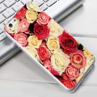 3D Patterns Beautiful Rose Flowers Protective Cover Case For iPhone 5 5s