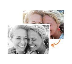 In onze handige besteltool zet je GRATIS je foto om in het zwart-wit of sepia. Het resultaat is meteen te bekijken en we garanderen je dat dit er prachtig uitziet! Probeer het snel! www.GoedkoopTuindoek.nl