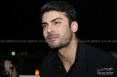 Fawad khan in Dubai! Black shirt