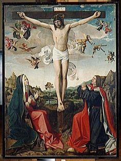 Josse Lieferinxe, Le calvaire (Avinhon, 1493-1505, Musée du Louvre, Paris)