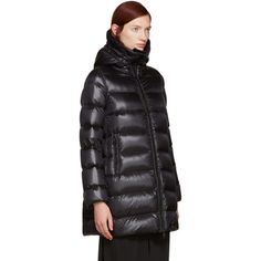 moncler@#$99 on | Model street style | Pinterest | Moncler, High collar and Closure