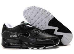 UK Market - Nike Air Max 90 Mens All Black Trainers