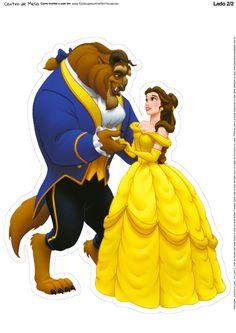 Disney Princess Belle, Princesa Disney Bella, Image Princesse Disney, Disney Princess Pictures, Images Disney, Art Disney, Beauty And The Beast Crafts, Beauty And Beast Birthday, Princess Cupcake Toppers