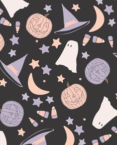 """Stacey on Instagram: """"Custom spooky cute patterns for my friend @elisabethandfaith ! Excited for all that she has in the works!! All new seamless fall patterns…"""""""