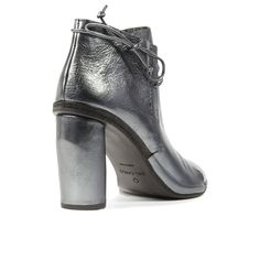 Roberto del Carlo - Leather lace-up ankle boot