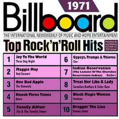 Billboard Rock and Roll - 1986 | Billboard Top Rock 'N' Roll Hits: 1971 by Various Artists - BlueBeat ...