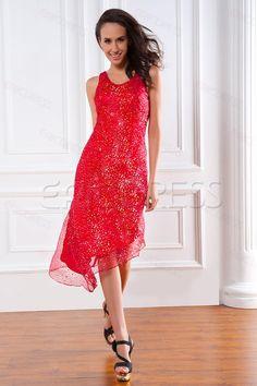 Amazing Asymmetrical Beaded Short Renata's Homecoming Dress#Autumn's Choice.