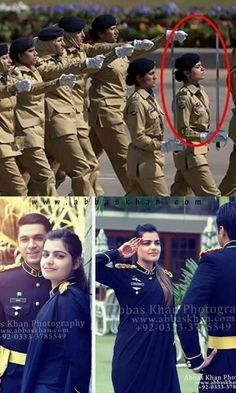 Captain Sana - Pakistan Army