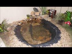 saiba como preparar um lago pequeno sem muito gasto - YouTube