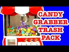 Candy Grabber Vs The Trash Pack Gang - A Healthy Fun Mash Up Toy!