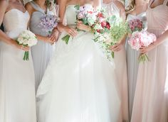 Bridesmaids | Bouquets | Rory Wylie Photography | Fine Art Curation | Wedding Sparrow