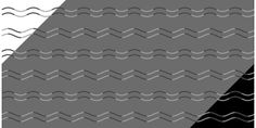 Eyes Confuse Waves and Zig-Zags in New Japanese Optical Illusion | Inverse