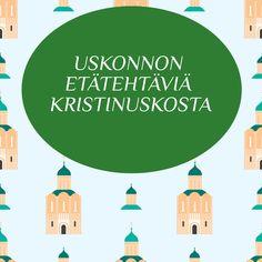 Tässä blogissa kootusti etätehtäviä kristinuskoon liittyen. Finland, Religion, Teaching, School, Education, Onderwijs, Learning, Tutorials