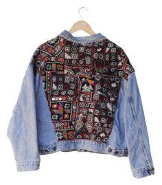 OOAK Banjara Levi's Denim Jacket