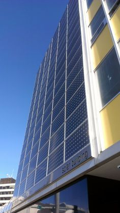 Defenders of Wildlife's Alaska office is located at The Solar Building in Anchorage. The 1957 art deco building is aptly named for the recent installation of a full wall of 64 solar energy panels that make this one of only a few commercial buildings in Alaska powered in part by renewable energy, and the largest project for a commercial building in Anchorage.