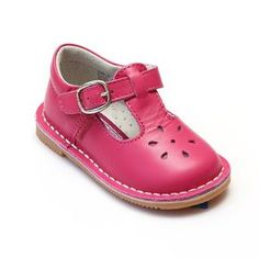 LAmour Girls Fuchsia Nubuck Leather Ruffle Collar Boots 11-12 Kids