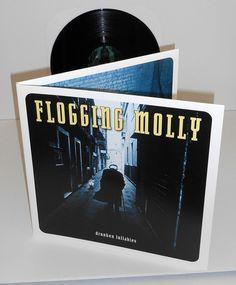 FLOGGING MOLLY drunken lullabies Lp vinyl Record #PunkPunkNewWave