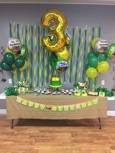 Trendy Birthday Decorations For Boys John Deere 21 Ideas 3rd Birthday Party For Boy, 50th Birthday Party Decorations, Farm Birthday, Tractor Birthday Cakes, Birthday Ideas, Birthday Themes For Boys, Third Birthday, First Birthdays, Impreza