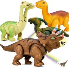 8pcs Mini Plastic Dinosaur Toys Childrens Pocket Money Toys Fillers Kids Gift