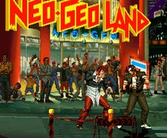 Neo-Geo Land from The King of Fighters '95, by SNK.