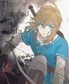 World of Our Fantasy — animepopheart: ★ 穸钰 The Legend Of Zelda, Legend Of Zelda Breath, Ben Drowned, Link Fan Art, Link Art, Wind Waker, Zelda Drawing, Link Zelda, Twilight Princess